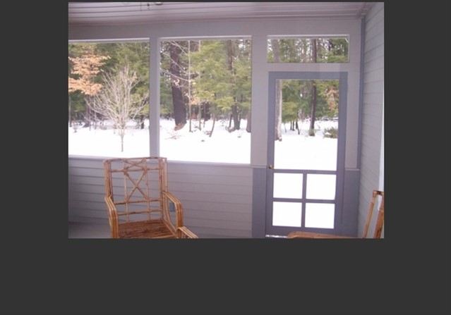 New Screen Porch